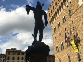Benvenuto Cellini, Perseus with the Head of Medusa, Piazza della Signoria, Florence, Italy