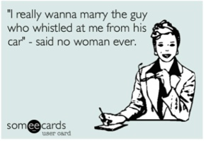said no woman ever